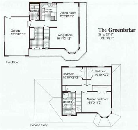 Greenbriar Sea Hawk Homes Green Cabin Floor Plans