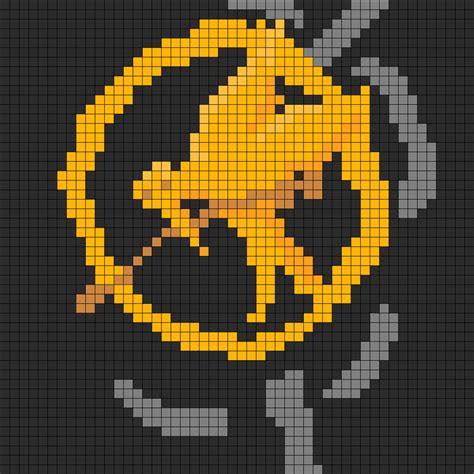 design pattern for video games hunger games perler bead pattern bead sprites misc