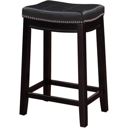 Bar Stools For 46 Inch Counter by Linon Claridge Backless Counter Stool 24 Inch Seat Height