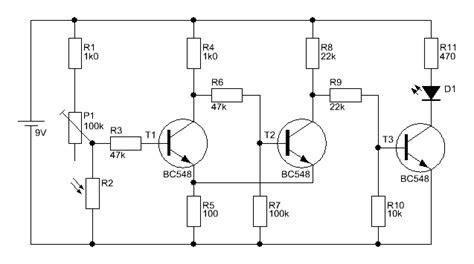 transistor bc548c bc546c bc550c d 228 mmerungsschalter