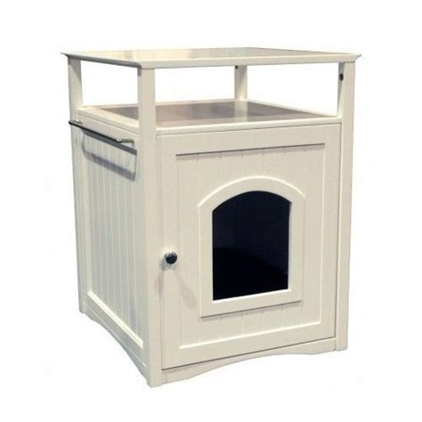 coffee table dog house cat litter box enclosure bathroom cabinet pet dog house coffee table night stand