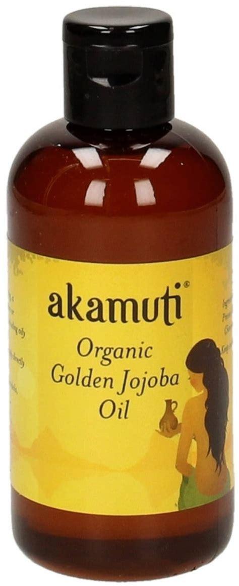 Organic Golden Jojoba akamuti organic golden jojoba 100 ml ecco verde