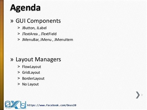 no layout manager java java gui part ii