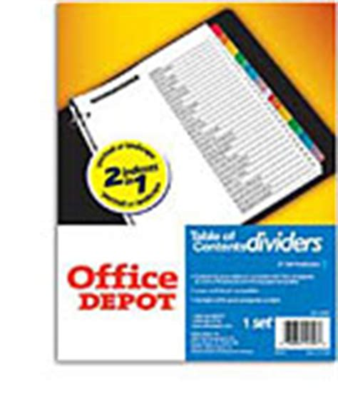 Office Supplies Furniture Technology At Office Depot Office Depot Flyer Templates