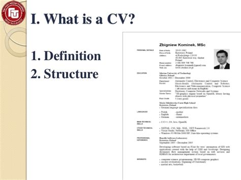 How To Make A Cv by What Is A Cv 100 More Photos