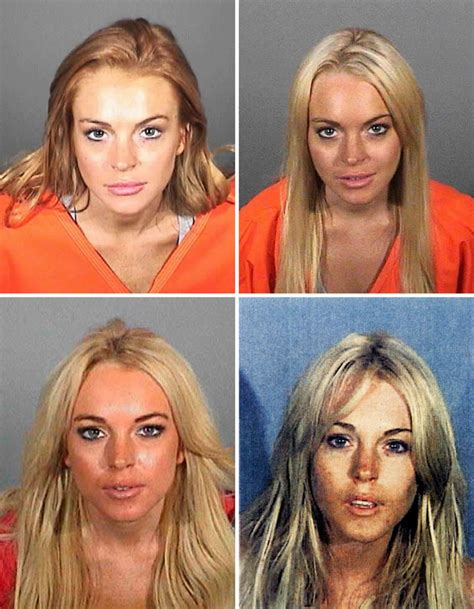 Lindsay Lohans Busted For Drugs by Mug Gawker