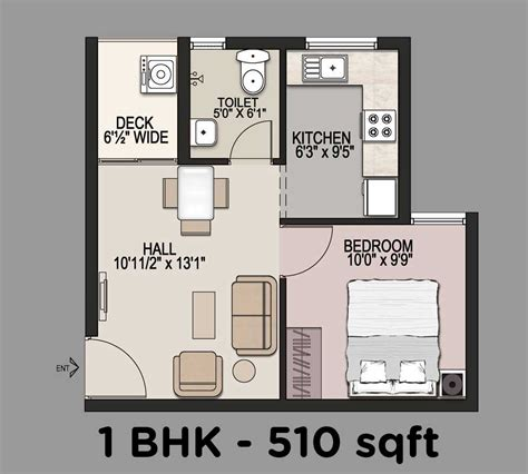 1bhk floor plan mantri navaratna