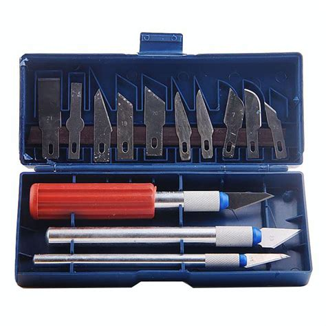 1 Set Pisau Ukir pisau pahat ukir 13 in 1 set pisau ukir untuk berbagai keperluan memahat anda harga jual