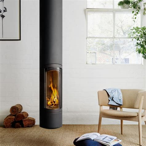 suspended gas fireplace modern designer fireplaces wood heaters oblica melbourne