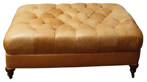 camel leather ottoman unavailable lee industries leather cocktail ottoman