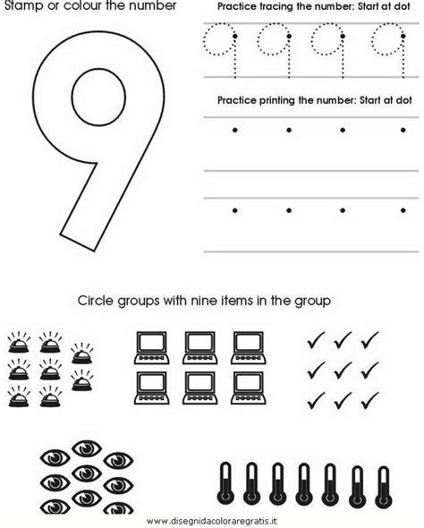 elenco lettere alfabeto disegno impara numeri 09 categoria alfabeto da colorare