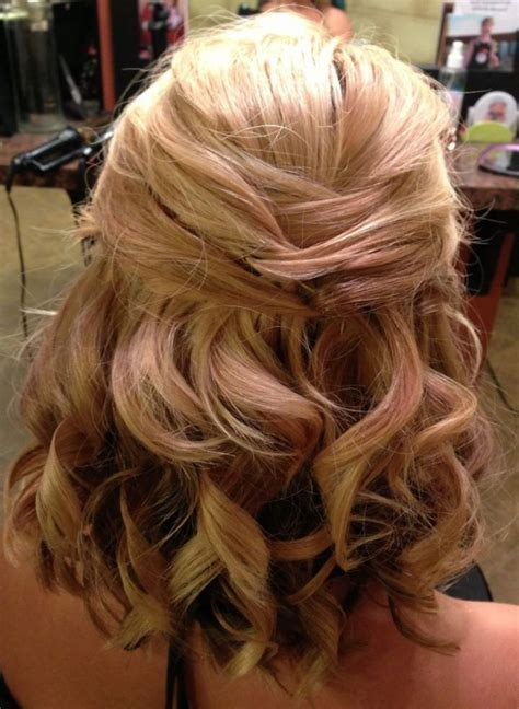 Half Up Half Wedding Hairstyles For Length Hair by Wedding Hairstyles Half Up Medium Length Hair