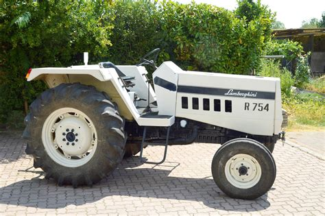 Lamborghini R 754 by 1979 Lamborghini Tractor R 754 One Owner From New Coys