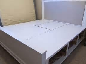 Diy King Size Bed Frame Diy Size Platform Bed With Storage Nortwest