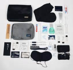 united airlines bags inside the first class vanity bags that reveal how the