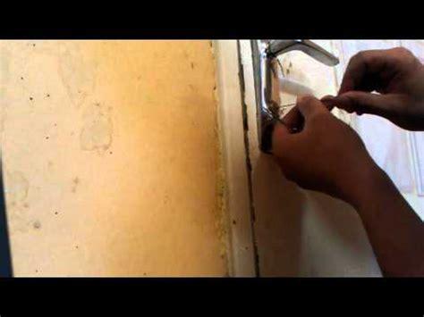 comment ouvrir une serrure sans clef doovi
