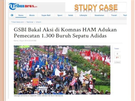 Sepatu Gats Tangerang hubungan buruh dan perundingan kolektif