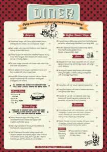 dinner menu ideas 25 best ideas about diner menu on menu design