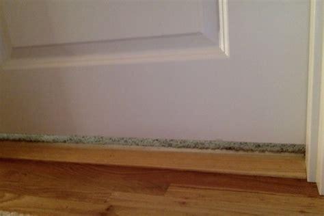 interior door gap fix how much space should be between interior door and floor