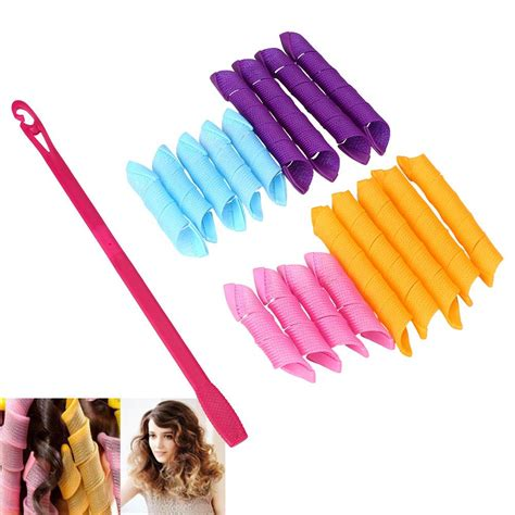 Hair Curler For Hair by 18 Stretchy Magic Plastic Snail Hair Curler Hair Rollers