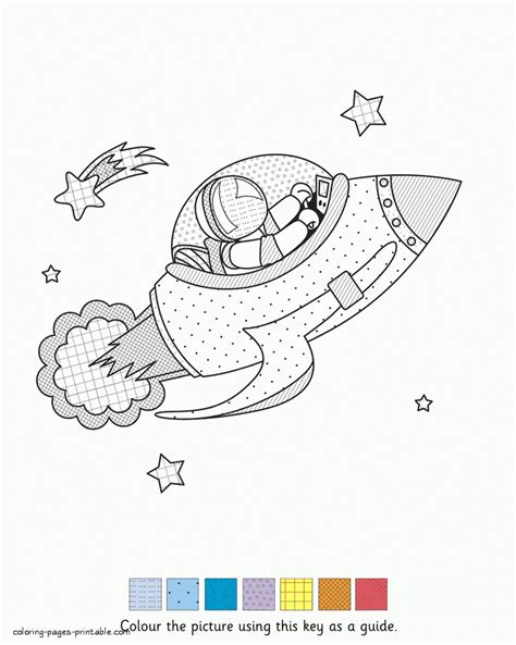 Non Printable Space Html | html non printable space coloring page by pattern space rocket
