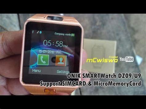 Onix Smartwatch Dz09 U9 onix smartwatch dz09 u9 support sim card mmc