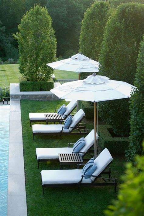 backyard lounge luxury pool chairs for a summer lounge oasis