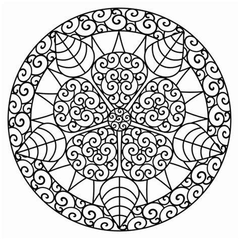 mandala coloring in pages coloring pages detailed coloring pages for adults