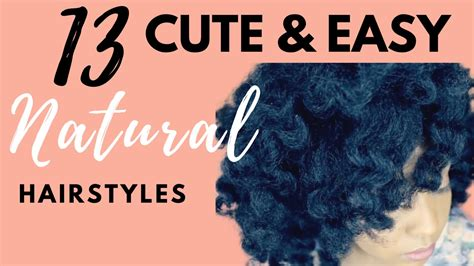 Natural Hairstyles   YouTube