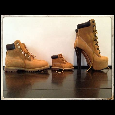 timberland high heel work boots beyonce s instagram pic of family s timberlands