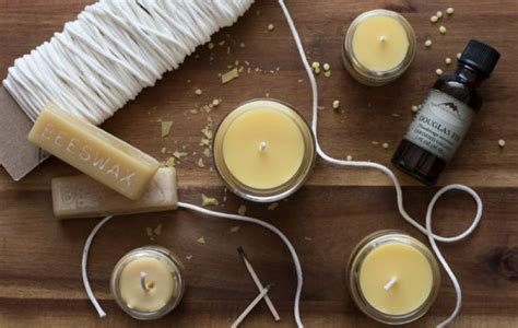 how to make beeswax candles candle