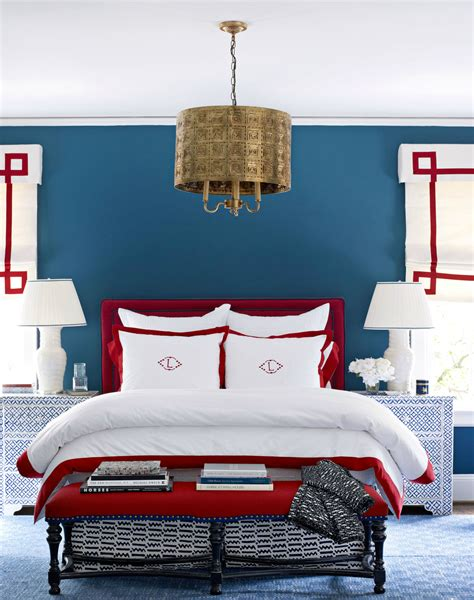 blue and red bedroom ideas 10 chic ways to decorate in red white and blue