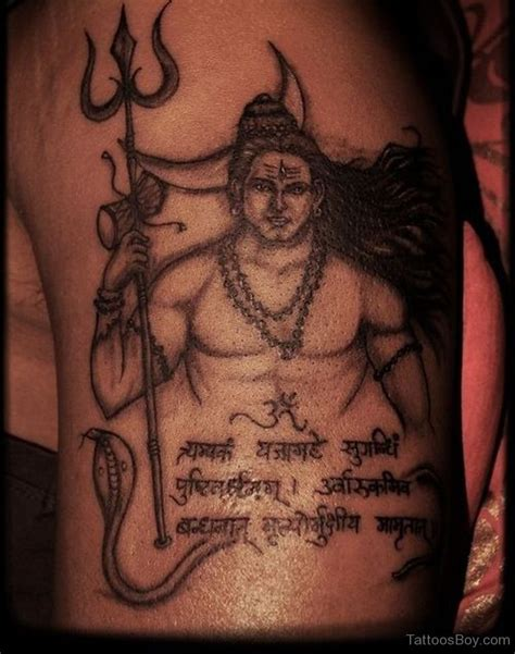 shiva tattoo design shiv tattoos designs pictures page 5
