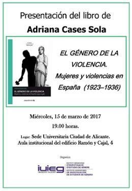libro la dictadura de gnero la sede universitaria ciudad de alicante acoge la presentaci 243 n del libro quot el g 233 nero de la