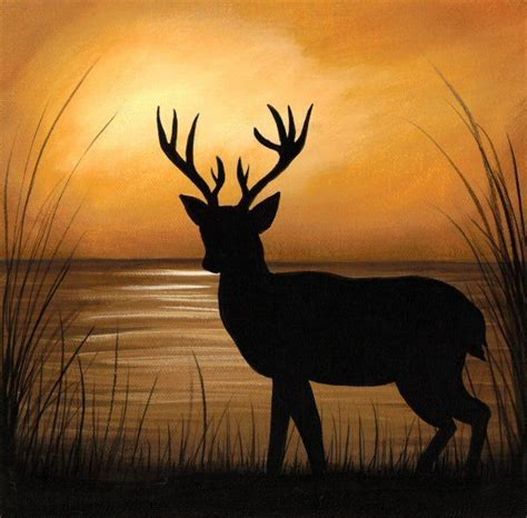 Stag Head Home Decor by Deer Paintings On Pinterest Deer Art Deer Illustration