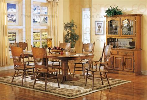 dining room sets for sale oak dining room set with 8 nostalgia 7 piece double trestle dining set with press
