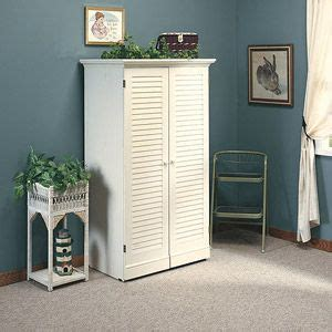 sauder harbor view craft armoire antiqued white sauder harbor view craft armoire antiqued white