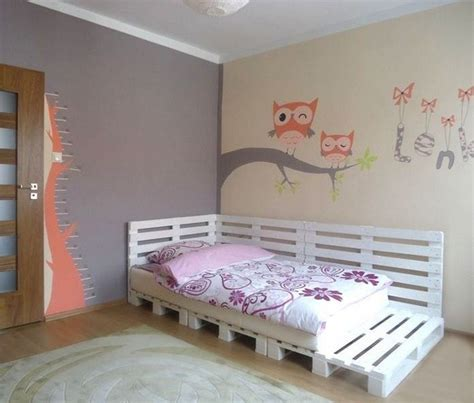 diy girls bed diy pallet furniture ideas 40 projects that you haven t seen