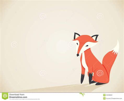 how to create a retro fox illustration in adobe illustrator retro fox royalty free stock photo image 35938895