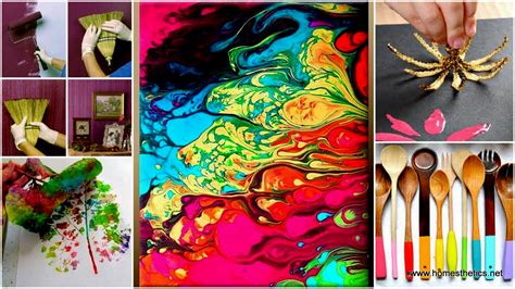 diy projects paint get your with diy painting crafts and ideas