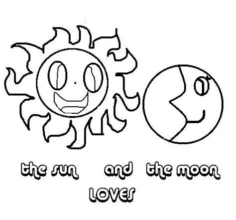 imagenes soy luna para dibujar dibujo de sol y luna para colorear dibujos net