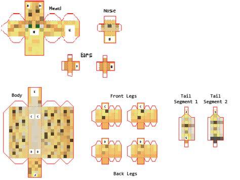 Buy Minecraft Papercraft - papercraft baby ocelot