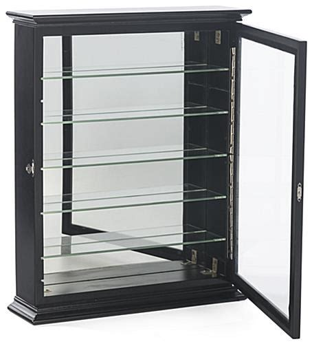 Cabinet for Shot Glasses   Holds 36 Shooters