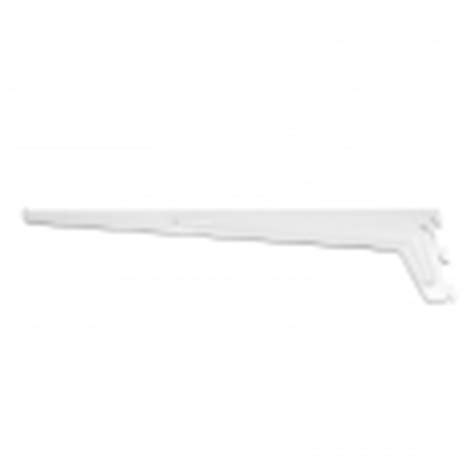 handy shelf single shelving bracket 500mm white bunnings
