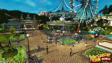 world roller coaster price rollercoaster tycoon world gets official screenshots