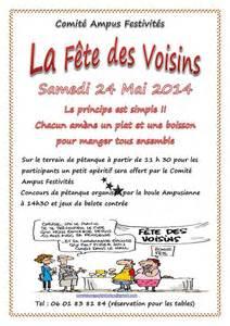 Exemple De Lettre D Invitation Pour Cérémonie Modele Invitation Fete Des Voisins 2015 Document