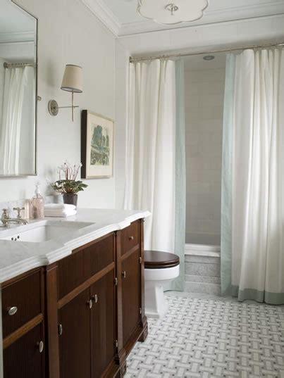 loft cottage tuesday tip shower curtain drapes