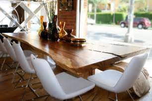 Natural Wood Dining Room Tables by Exellent Home Design Natural Wooden Dining Room Table