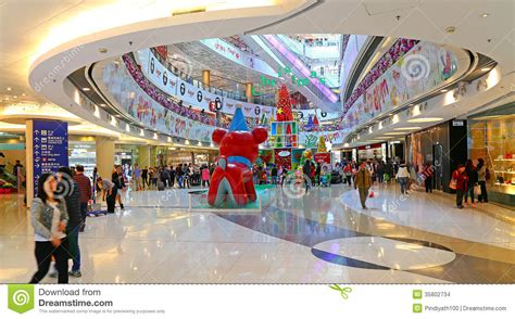 decoration shopping decoration in shopping mall editorial stock