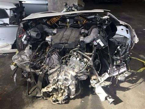 lamborghini aventador split in half lamborghini aventador split in half at mechanic shop dpccars